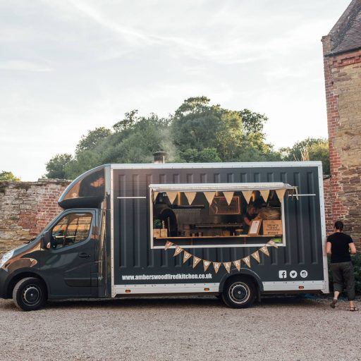 Shropshire's first pizza van